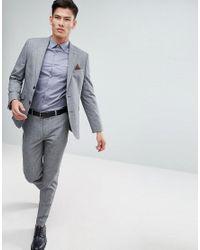 Ted Baker - Blue Slim Smart Shirt for Men - Lyst