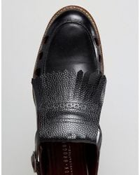 London Brogues - Buckle Sandals In Black for Men - Lyst