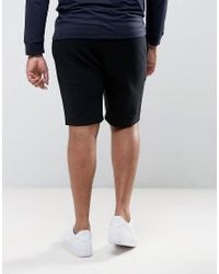 ASOS - Black Plus Skinny Short With Contrast Waistband for Men - Lyst