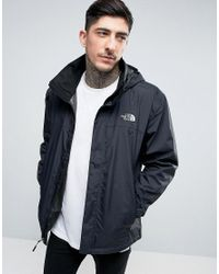98393364005d2 The North Face Resolve 2 Jacket Stoweaway Hood In Black in Black for ...