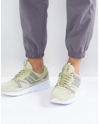 Saucony - Grid 8500 Ht Suede Trainers In Green S70370-2 for Men - Lyst