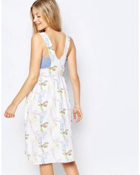 Family Affairs - Blue Fool For Love Dress - Lyst