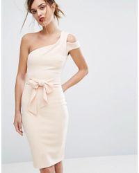 Bec & Bridge - Pink Ellette Midi Dress - Lyst