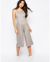 Native Youth | Natural Culotte Jumpsuit | Lyst