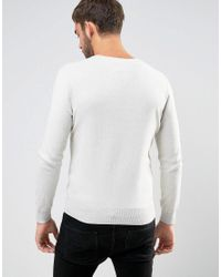 Polo Ralph Lauren - Gray Jumper With V-neck In Grey for Men - Lyst