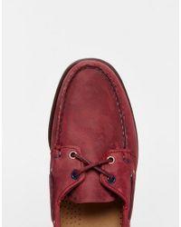 Sebago   Docksidesboat Shoes - Purple for Men   Lyst