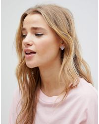 ASOS - Pink Limited Edition Best Friend Stud Earrings - Lyst