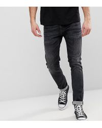 aa1eff4670465 Lyst - Nudie Jeans Co Tight Terry Jeans Black Streets Wash in Gray ...