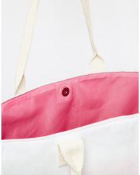 South Beach - Red Outh Beach Pink Ombre Beach Bag - Lyst