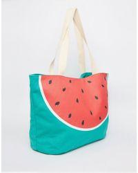 South Beach - Multicolor Watermelon Beach Bag - Multi - Lyst