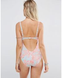 ASOS - Multicolor Maternity Whimsical Print Swimsuit - Lyst