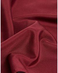 ASOS - Red Design Pocket Square In Burgundy for Men - Lyst