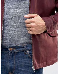 ASOS - Metallic Russian Wedding Ring In Gold for Men - Lyst