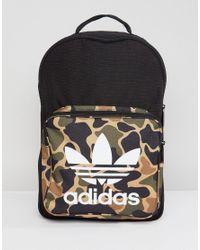 adidas Originals Classic Backpack In Camo Cd6121 in Green for Men - Lyst 7da144b6ac641