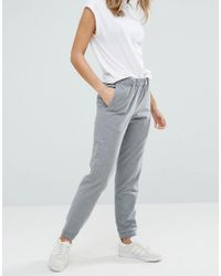French Connection | Gray Flannel Jogger | Lyst