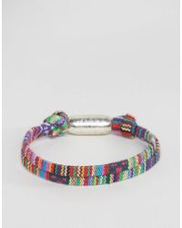 Classics 77 - Multicolor Aztec Woven Bracelet for Men - Lyst