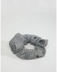 ASOS DESIGN - Multicolor Check Scrunchie Hair Tie - Lyst