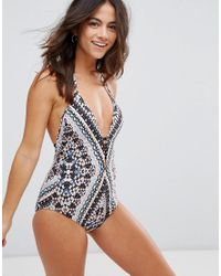 Seafolly - Multicolor Indian Summer Swimsuit - Lyst
