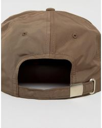 ASOS - Green Vintage Baseball Cap In Khaki With Orange Underpeak for Men - Lyst