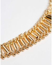 ALDO - Metallic Cheraria Choker Necklace - Lyst