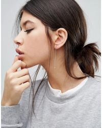 Cheap Monday - Metallic Knot Earrings - Lyst