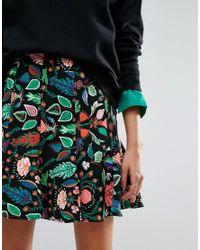 Essentiel Antwerp - Red Obolary Short Skirt - Lyst