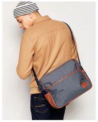 Original Penguin - Blue Riginal Penguin Messenger Bag With Colour Block for Men - Lyst