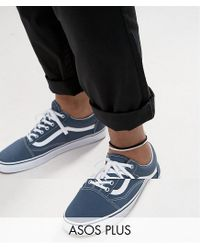 ASOS - Plus 2 Pack Faux Suede Anklet In Black And White for Men - Lyst