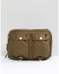 Herschel Supply Co. Men s Eighteen Bum Bag In Military Inspired Army Surplus  ... 8f6aad01ad