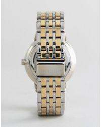 Ben Sherman - Metallic Wb071gsm Bracelet Watch In Mixed Metal for Men - Lyst