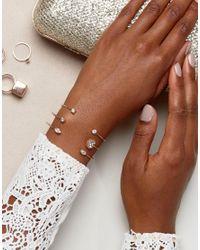 ALDO - Metallic Monnett Stacking Bracelets - Lyst