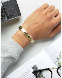 Vitaly - Metallic Traka Bangle Bracelet In Gold for Men - Lyst