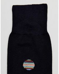 Paul Smith - Blue Multi Polka Socks In Navy for Men - Lyst