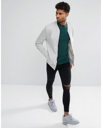 ASOS Asos Tall Longline T-shirt With Crew Neck In Green for men
