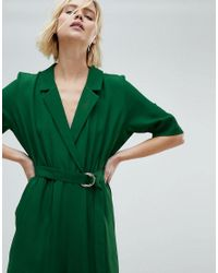 Weekday - Green Jumpsuit - Lyst