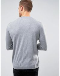 Only & Sons | Gray Fine Knit Sweater for Men | Lyst