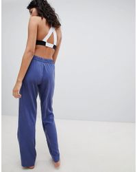Calvin Klein - Blue Pj Bottoms - Lyst