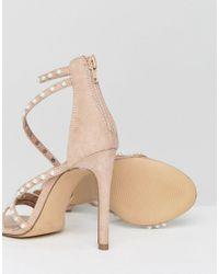 Steve Madden - Pink Meg Pearl Sandals - Lyst