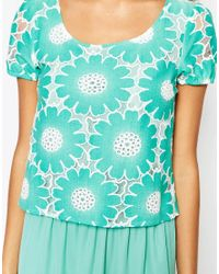 Traffic People - Green Send Me No Flowers Rosie Dress - Lyst