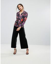 Love | Black Floral Shirt | Lyst