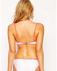 South Beach - White Outh Beach Mix And Match Boost Bustier Bikini Top - Lyst