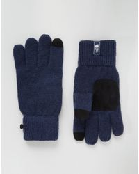 The North Face   Blue Salty Dog Etip Glove for Men   Lyst