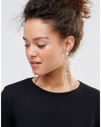 Nylon - Metallic Drop Earrings - Lyst