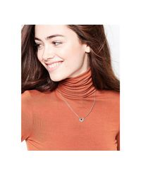 Nylon | Metallic Gold Plated Necklace | Lyst
