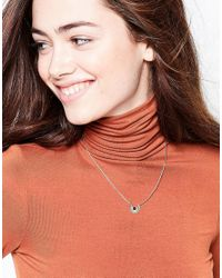 Nylon - Multicolor Gold Plated Necklace - Lyst