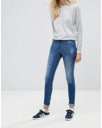 Blend She - Blue Bright Blush Skinny Jeans - Lyst