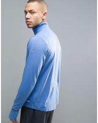 PUMA - Running Nightcat Powerwarm 1/4 Zip Sweat In Blue 51438002 for Men - Lyst
