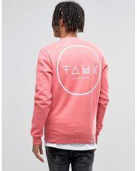 Friend or Faux | Sweatshirt - Pink for Men | Lyst