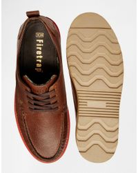 Firetrap - Brown New England Deck Shoes for Men - Lyst