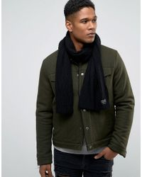 Jack & Jones - Black Scarf for Men - Lyst